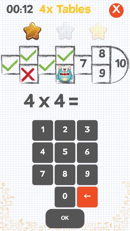 Multiplication games for kids!