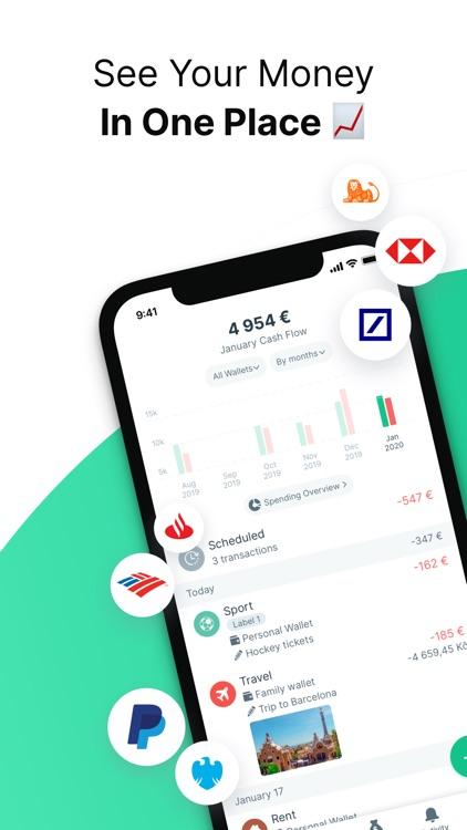 Spendee Budget & Money Tracker screenshot-0