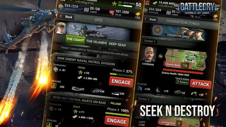 BattleCry: World War Game screenshot-4