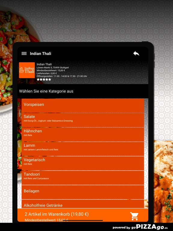 Indian Thali Stuttgart screenshot 8