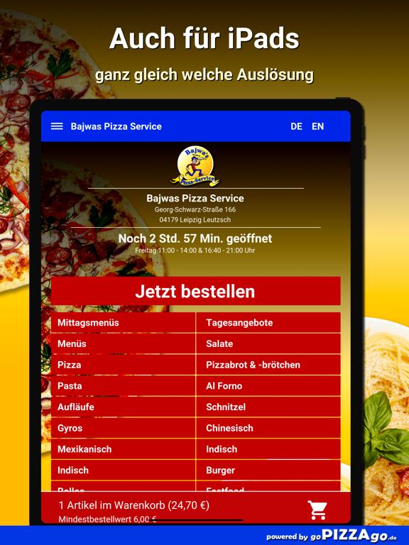 Bajwas Pizza Leipzig Leutzsch screenshot 7