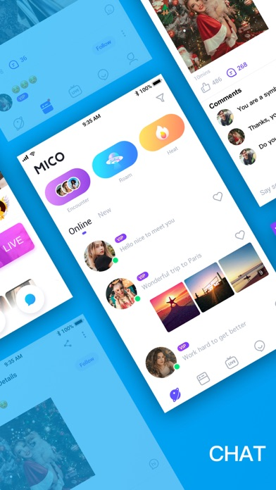 MICO: Make Friends, Live Chat Screenshot