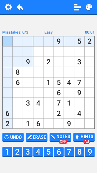 Number Place - Anywhere screenshot #1