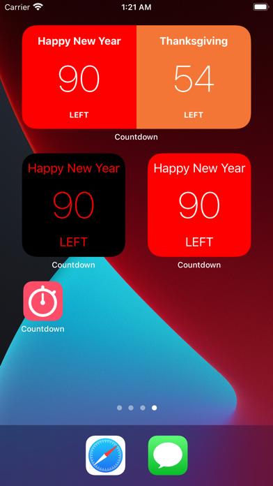 Countdown # screenshot 8