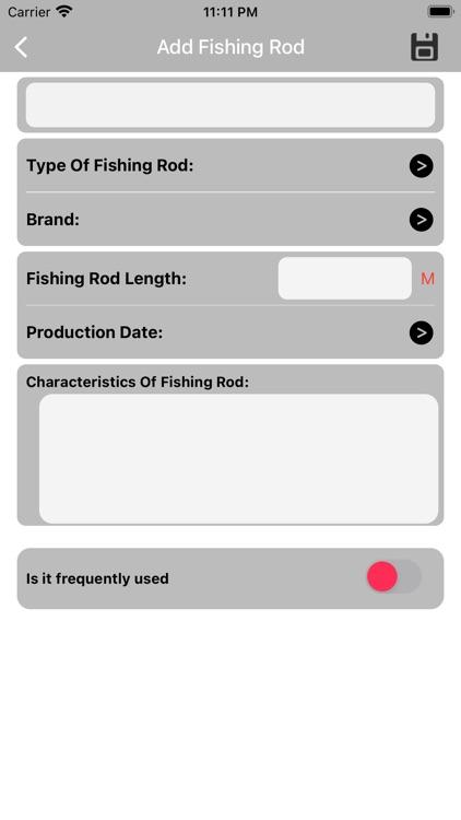 My Fishing Equipment screenshot-3