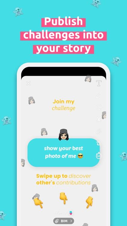 Bim : challenge your friends