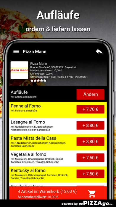 Pizza Mann Köln Bayenthal screenshot 6