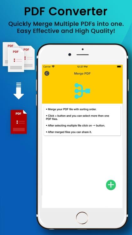 PDF Maker from Photo Word XLS screenshot-3
