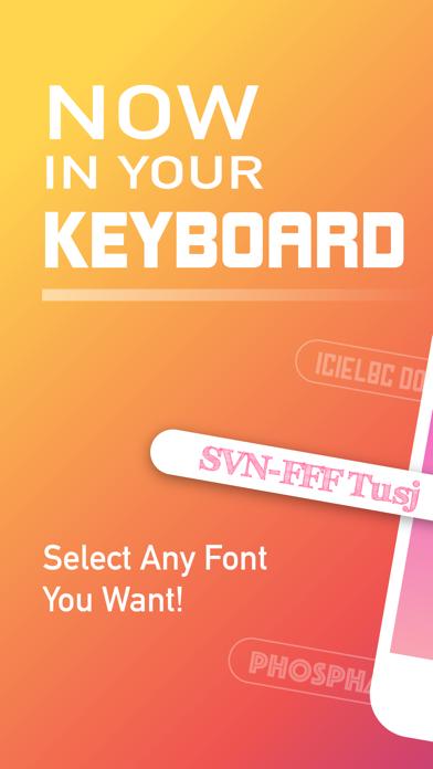 Fonts. Cool Fontsのおすすめ画像1