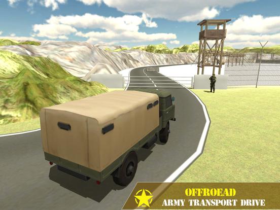 Army Transport Driving Games screenshot 5