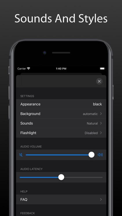 Metronome Touch screenshot-8
