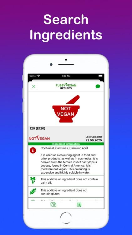 Fussy Vegan Recipes screenshot-4