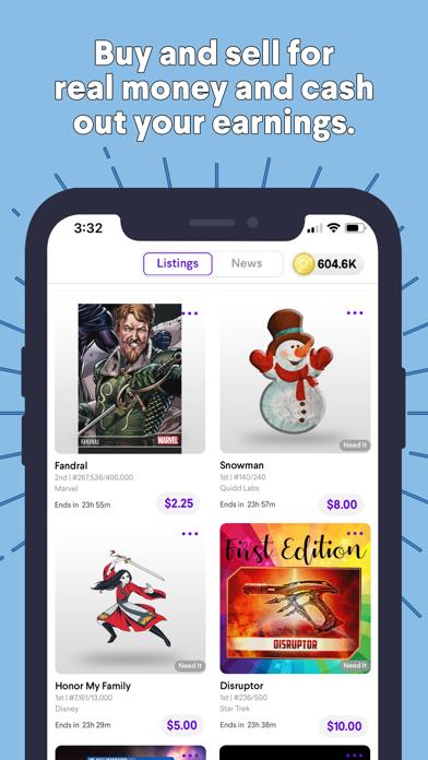Quidd: Digital Collectibles Screenshot