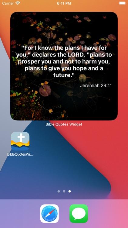 Bible Quotes Widget screenshot-4