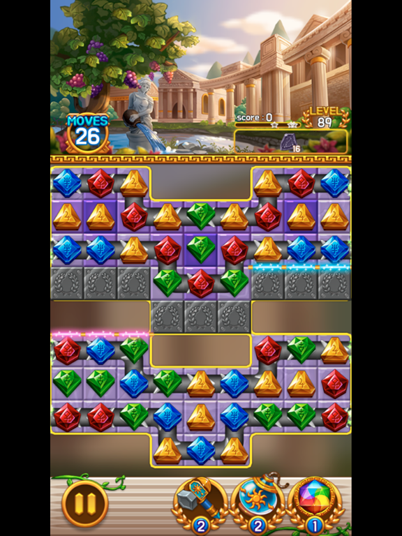 Jewel Athena: Match3 Puzzleのおすすめ画像4
