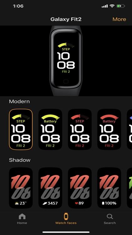 Samsung Galaxy Fit (Gear Fit) screenshot-3