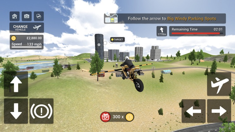 Flying Motorbike Simulator