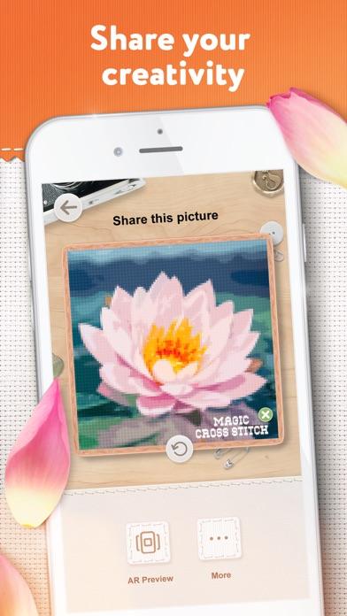 Magic Cross Stitch: Pixel Art screenshot 7