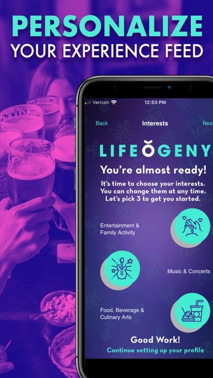Lifeogeny