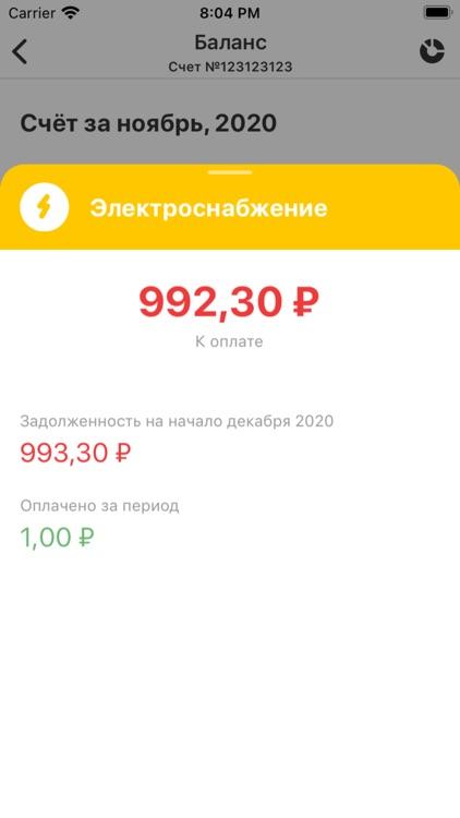 ЭнергосбыТ+ screenshot-3