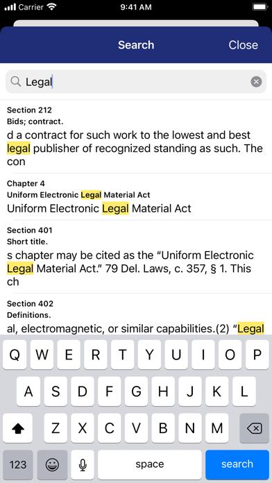 Delaware Code (by PocketLaw) screenshot 4