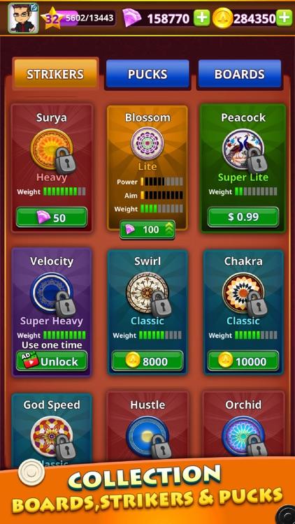 World Of Carrom :3D Board Game screenshot-4
