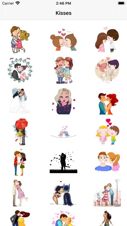 Kisses-Emoji