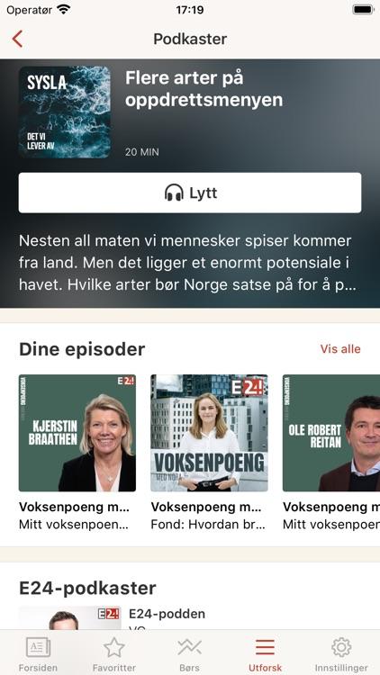 E24 - nyheter om økonomi screenshot-4
