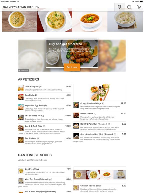 Dai Yee's Asian Kitchen screenshot 6