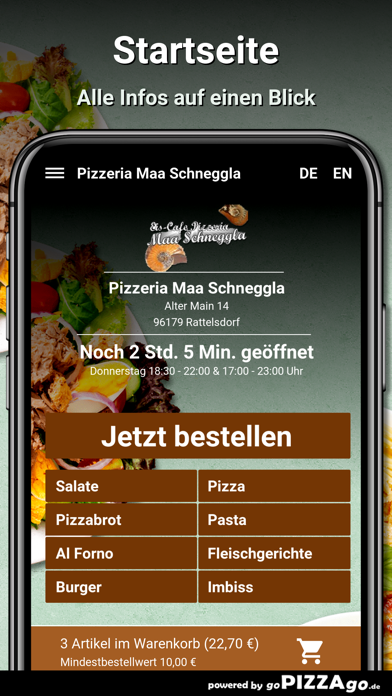 Pizzeria Maa Schneggla screenshot 2