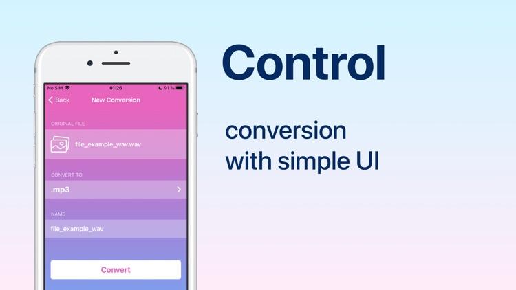 Audio Converter: convert mp3