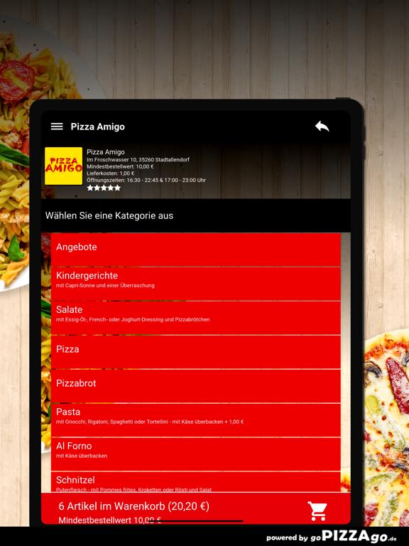 Pizza Amigo Stadtallendorf screenshot 8