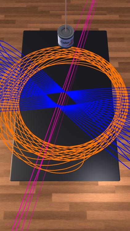 Pendulum Paint 3D screenshot-5