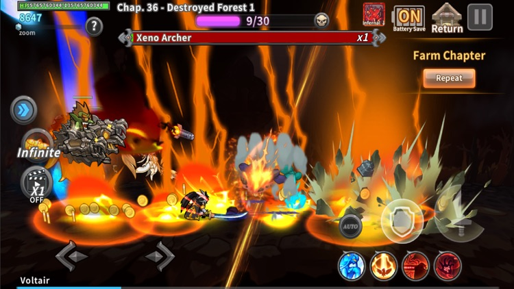Raid the Dungeon : IDLE RPG screenshot-5