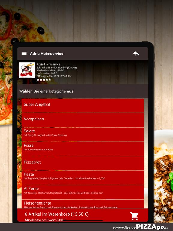 Adria Heimservice Homburg screenshot 8