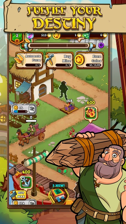 Royal Idle: Medieval Quest screenshot-0