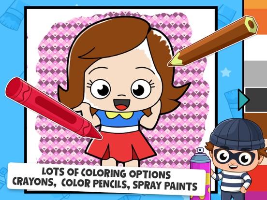 Baby Town : Kids Coloring Book screenshot 9