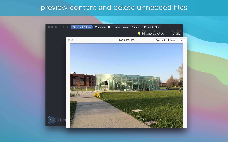 Screenshot do app DaisyDisk