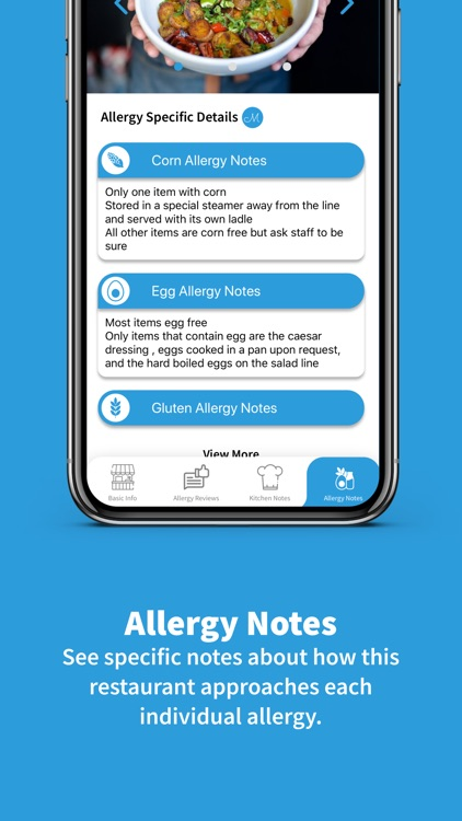 Food Allergy Dining: MacroMenu screenshot-3