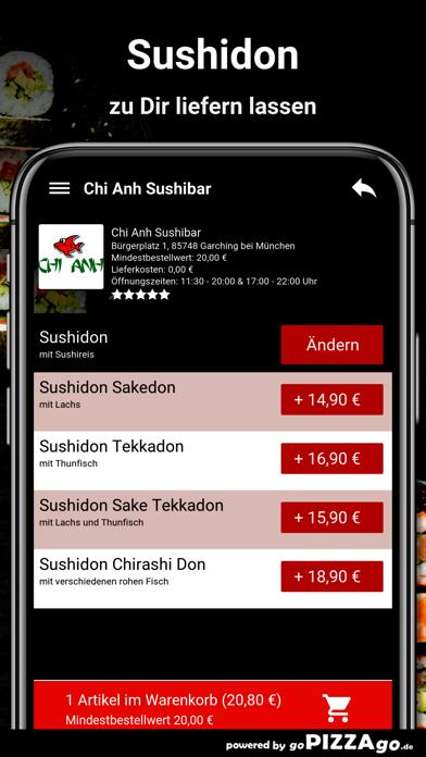 Chi Anh Sushibar Garching screenshot 5