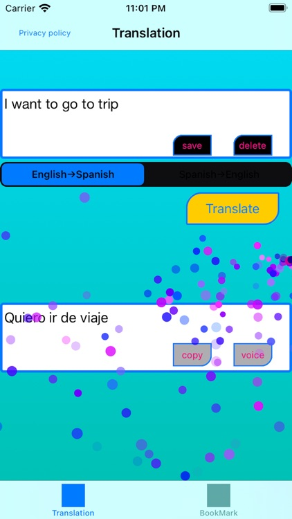 English to Spanish Translator,