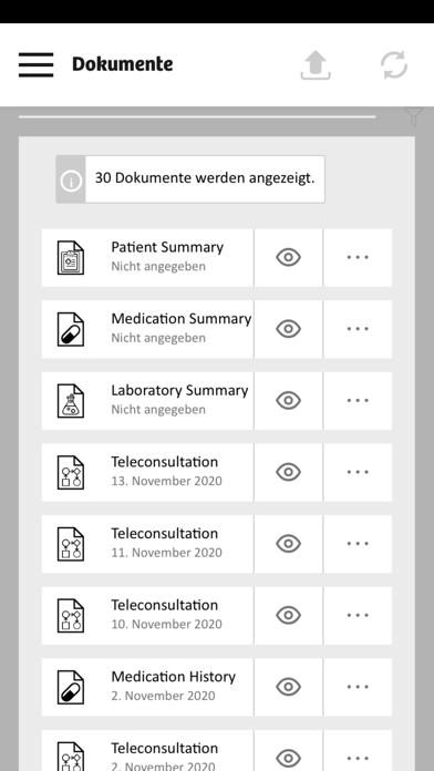 eHealth Patient PortalScreenshot von 2