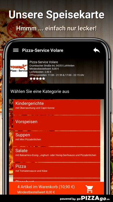 Pizza-Service Volare Lohfelden screenshot 4