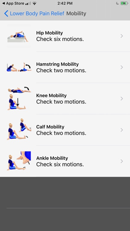 Stretch For Pain Relief Lower screenshot-3