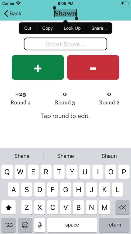 Score Keeper 2020 screenshot-6