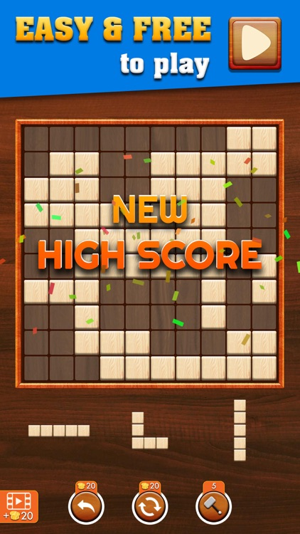 Woody Extreme Block Puzzle screenshot-0