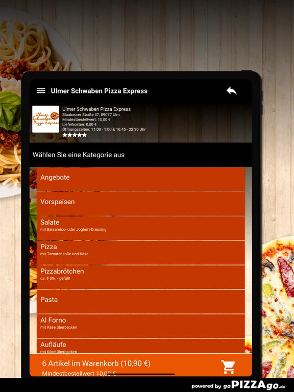 lmer Schwaben Pizza Express screenshot 8