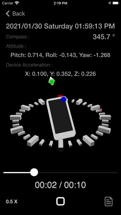 Motion Log Plus screenshot-7