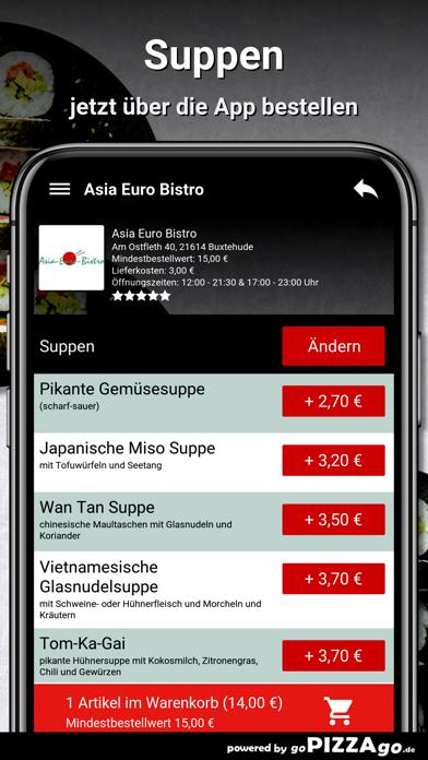 Asia Euro Bistro Buxtehude screenshot 5