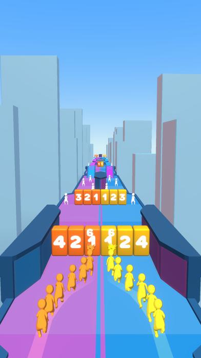 Crowd Snake Run screenshot 3